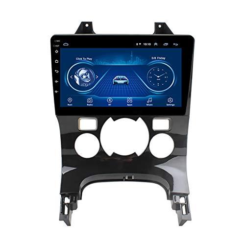 WY-CAR Lettore Dvd da 9,1 Pollici Android 8.1 HD Touchscreen Navigazione GPS per Auto per Peugeot 3008 2009-2018 con Bluetooth WiFi Supporto Musicale TV Digitale