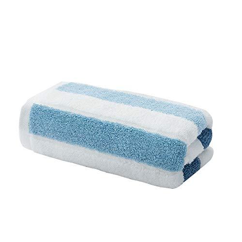 CMZ Toalla de algodón Puro Toalla de Lavado Facial Toalla de Rayas Suaves Toalla de Hilo retorcido para Adultos Suave y Absorbente 34x76cm