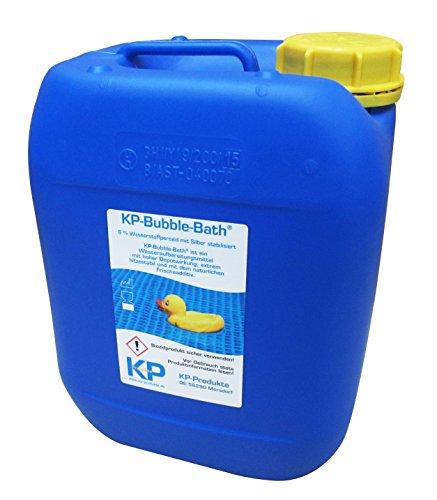 KP-Bubble Bath® Chlorfreies Wasseraufbereitungsmittel 6 % H2O2 für Pool und Planschbecken (5.000 ml)