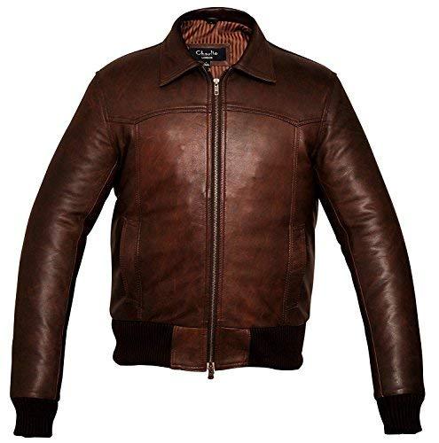 Charlie LONDON -  Giacca - Designer - Uomo Vintage Brown XX-Large