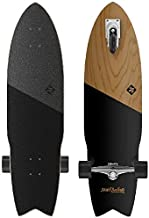Street Surfing SHARK ATTACK Longboard Casterboard Surf Carving Cruiser 9.6 x 36""