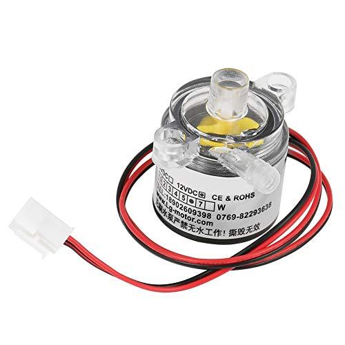 MLH waterpomp – 1 stuk mini 12 V DC 6 W eetbare waterpomp zonder dompelwater 2 l/min. In werking van Dentro/vuur of heet water.