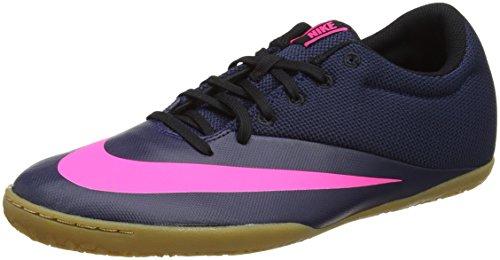 Nike Herren MercurialX Pro Ic Fußballschuhe, Blau (Midnight Navy/Midnight Navy-pink Blast), 45.5 EU