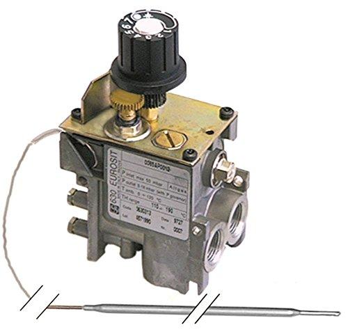 SIT Serie 630 Eurosit gasthermostaat voor friteuse Mareno OFQG41, EF74G8VG, FQG41, FQG61, EF74G8VA, Silko EFG72108, EFG72110 M10x1