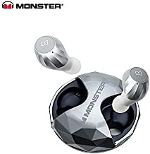 Monster Nuovo Clarity HD Airlinks Ad Alta Definizione True Wireless Earbuds Sliver