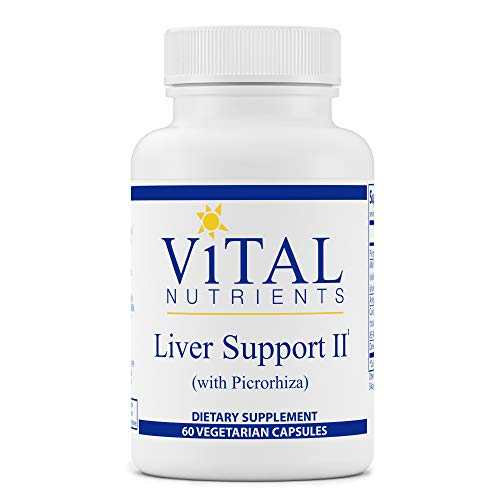 Vital Nutrients - Liver Support II (with Picrorhiza and Milk Thistle) - Herbal Combination to Support Healthy Liver Function - 60 Capsules per Bottle