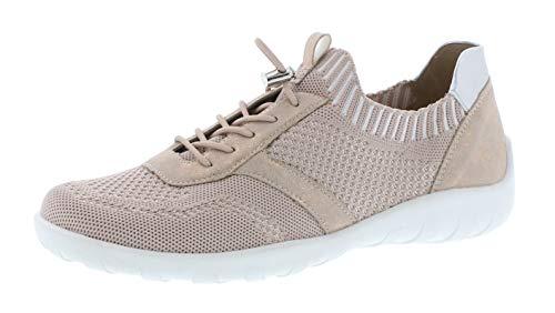 Remonte Damen R3511 Slip On Sneaker, Pink (Hellrosa/Rosegold/Silver 31), 42 EU