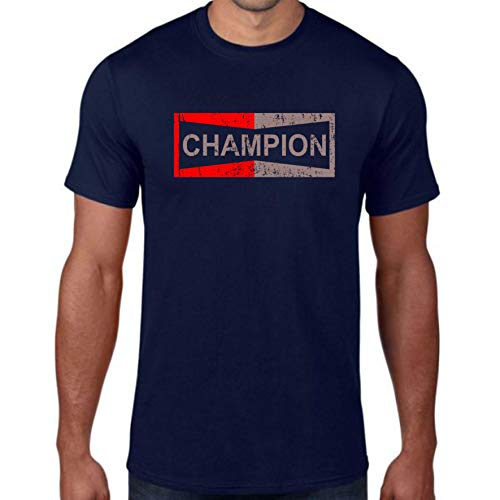 Champion - Camiseta Unisex con Texto en inglés Once Upon a Time in Hollywood, Inspirada en Brad Pitt Superstar Hero Top