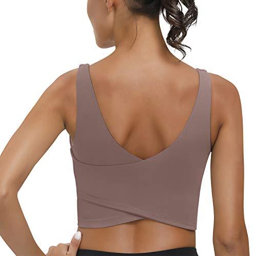 signeala longline sports bras for women