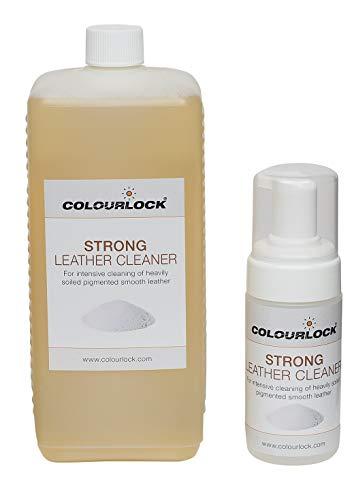 Limpiador de piel Colourlock para limpieza profunda de interiores de coches, tapicerías, carteras y prendas de vestir.