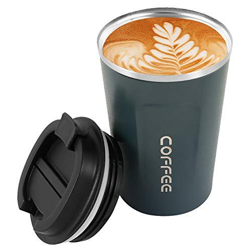 OurLeeme Kaffeetasse, Edelstahl...