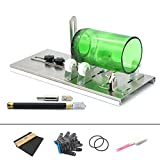 ONV Glass Cutter,Bottle Cutting Tool Kit,DIY Home Decorations,Durable Diamond Carbide Make,Complete Set,Environmental Conservation,Suitable for Bottle Cutters for Wine, Beer, Whiskey, Round etc.