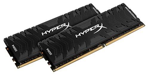 HyperX Predator HX424C12PB3K2/16 Memoria DDR4 16 GB Kit (2 x 8 GB), 2400 MHz CL12 DIMM XMP