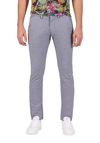 Timezone Herren Slim JannoTZ Shorts, Grau (Micro Grey Check 8644), W31/L32