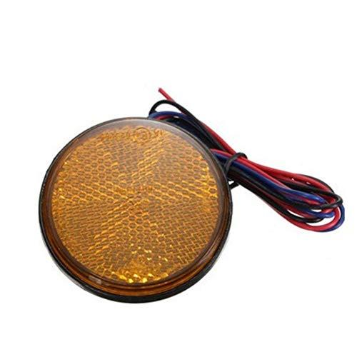 Iswell Truck Brake 24 LED rund Rücklichter Blinker Lampe LKW Seite Warnung Rücklicht Lampen