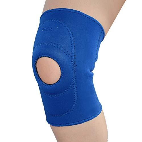 XER Kniebandage, schweißabsorbierend, atmungsaktiv, offenes Loch, verstauchungshemmend, für Basketball, Volleyball, Laufen, Wandern, Tennis