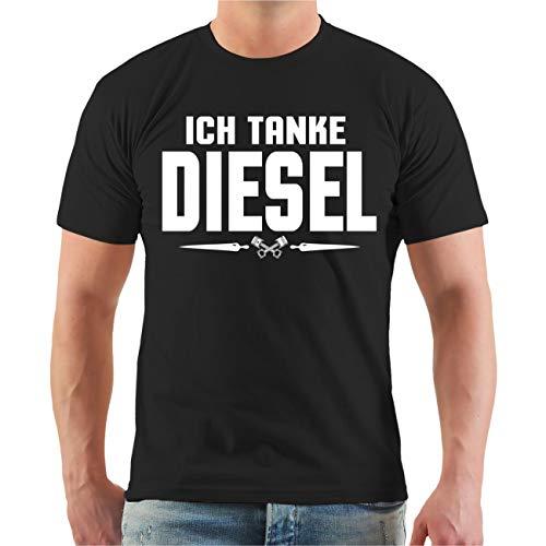 Männer und Herren Tshirt Dieselfahrverbot Ich Tanke Diesel - Die Jungs fürs Grobe (mit Rückendruck) Größe S - 8XL