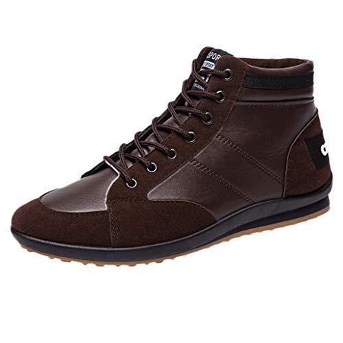 Homme Chaussure de Sport,Overmal Baskets de Multi-Sports en Plein Air Garçon Mode Rétro Respirantes Antidérapant Lacets Running Shoe Sneakers