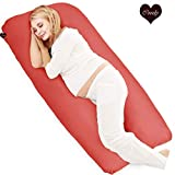 Coozly Red U Premium Lyte Pregnancy Pillow | Maternity Pillow pillow for pregnant Oct, 2020