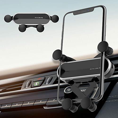 Ossky Supporto Cellulare Auto Universale 360 Gradi di Rotazione Porta Telefono da Auto per Bocchetta dell'Aria per iPhone 11 PRO/SE / 11/8, Galaxy S20 /10, Xiaomi, Huawei,Smartphone e GPS Dispositivi