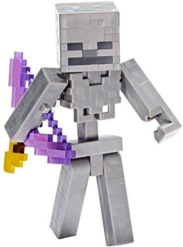 Minecraft Skeleton w/ Enchanged Bow Figure