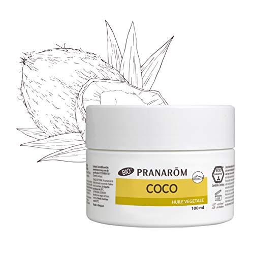 Pranarôm - Coco Bio (Eco) - Huile Végétale - 1Ère Pression à Froid de la Pulpe Fraîche - 100 ml