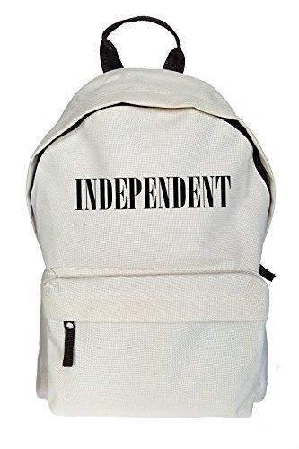 Teequote Independent Drucken Rucksack Gelegenheits Beige Tasche
