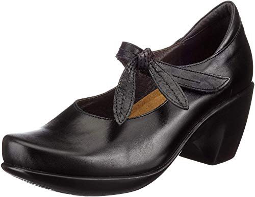 Naot Pleasure Eden Line Damen Pumps N90010-N030, Glattleder EU 40 schwarz (Black madras)