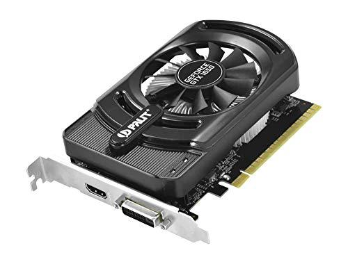 Palit GeForce GTX 1650 StormX 4 GB GDDR5 – Grafikkarten (GeForce GTX 1650, 4 GB, GDDR5, 128 Bit, 4096 x 2160 Pixel, PCI Express X16 3.0)