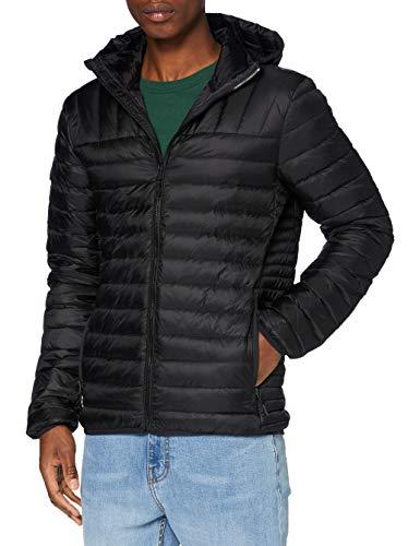 Superdry Core Down Jacket Giacca, Nero, M Uomo