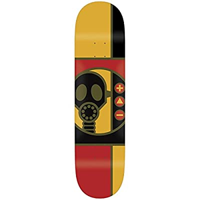 "Alien Workshop Skateboard Deck Gas Mask 8.375"" by Alien Workshop"