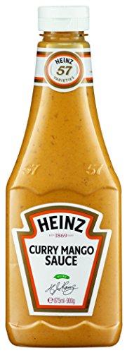 Heinz Curry Mango Sauce, Squeezeflasche, 2er Pack (2 x 875 ml)