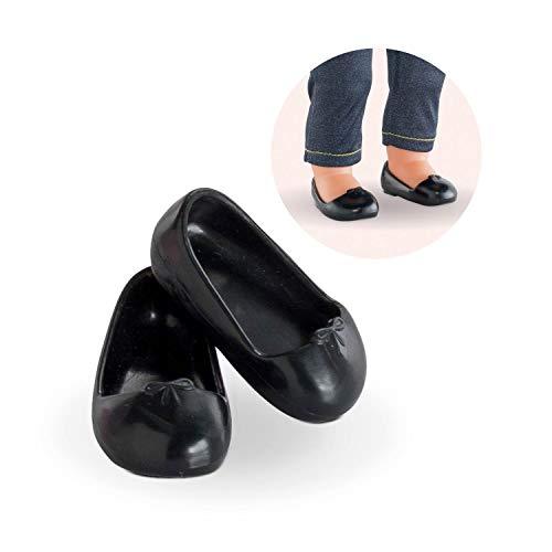 Corolle 9000210040 - Ma Corolle / Ballerinaschuhe in schwarz