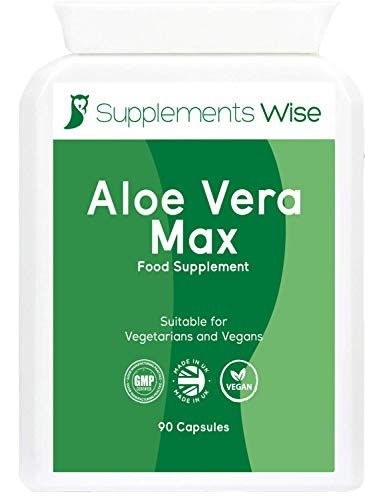 Aloe Vera Complex - 100 Capsules - Colon Cleanse and Flush - Gentle and Effective Detox for The Body - Powerful Natural Ingredients Including Garlic, Ginger and Wild Yam