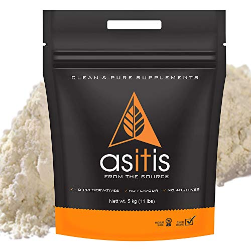 AS-IT-IS Nutrition Whey Protein Concentrate 80% | Unflavoured, tested for purity (5kg)
