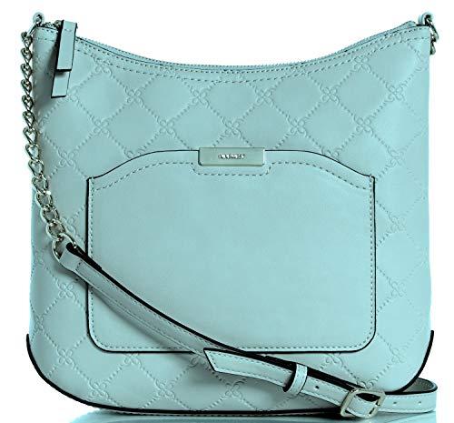 Nine West Women's Kennedy Swing Pack Cross Body Bag Blue Size: Medium