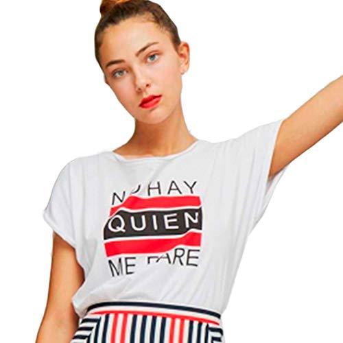 Dolores Promesas PV19 1043 Camiseta, Rojo (Rojo 00), X-Small (Tamaño del Fabricante:XS) para Mujer