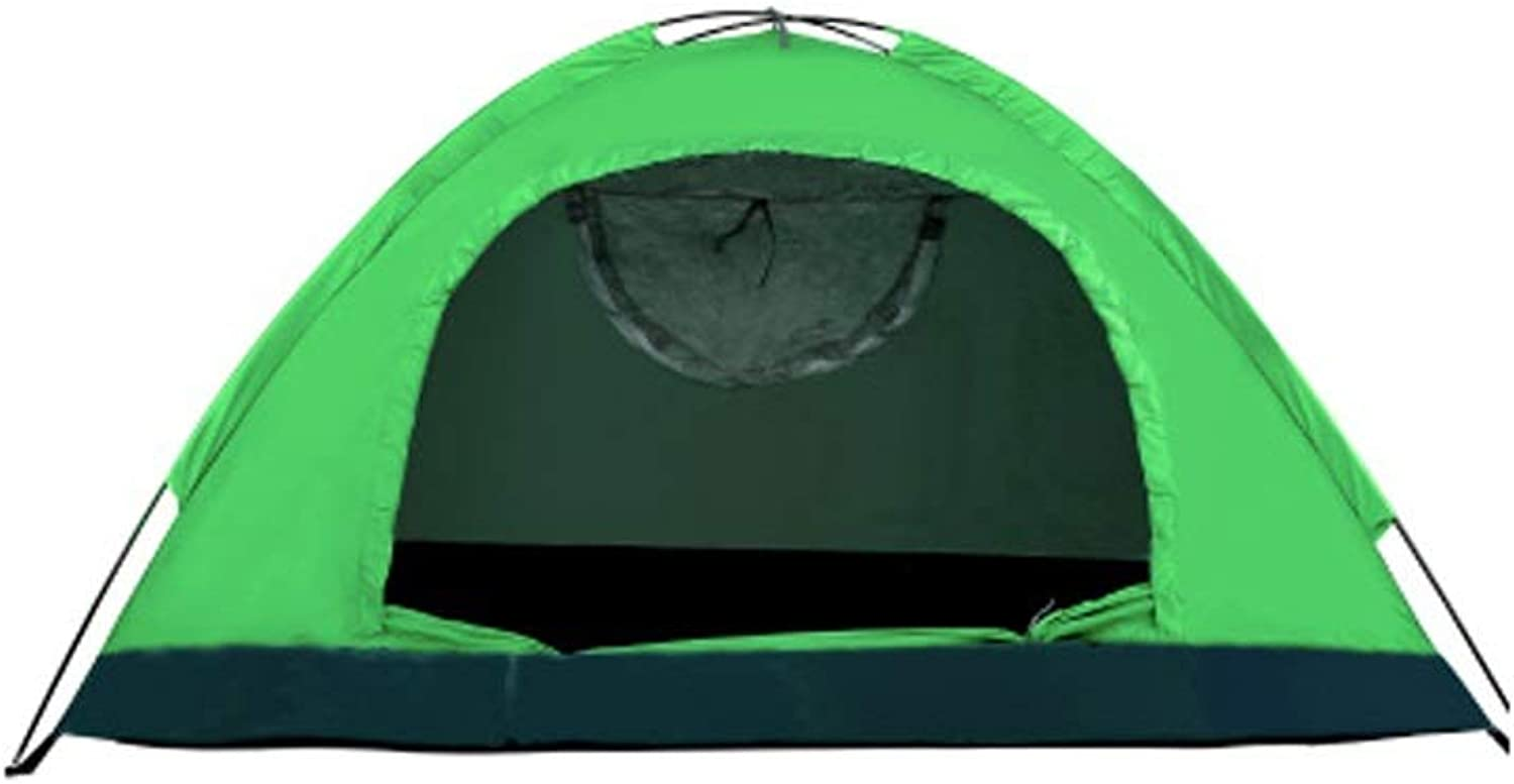 Outdoor Camping Tent, 1 2 People, Manual Construction, 170T Polyester Spinning, 190D Oxford, Rainproof Sunscreen Waterproof, Suitable for Picnic Beach Park Lawn Field (color    16)