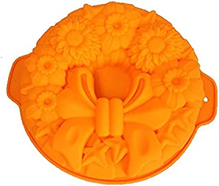 GMMH Moule à Cake Forme Moule à Pain Fruits Sol Forme (Orange)