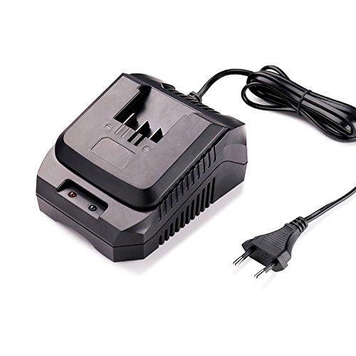 Caricabatterie Sostitutivo per Batteria Tacklife 18V Agli Loni di Litio con LED, PPK03B (Batteria PPK02B Venduta Separatamente)