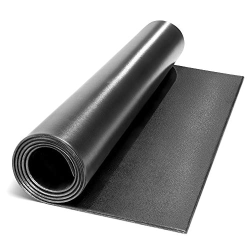 "Marcy Fitness Equipment Mat and Floor Protector for Treadmills, Exercise Bikes, and Accessories Mat-366 (78"" x 36"" x 0.25"" Thickness)"