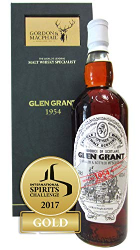 Glen Grant - Speyside Single Malt Scotch - 1954 59 year old Whisky