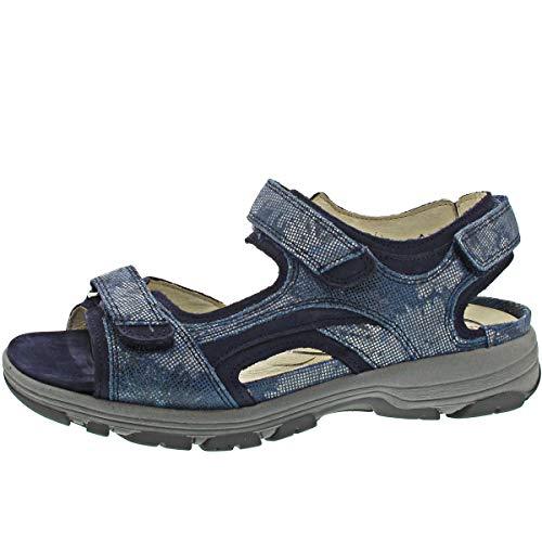 Waldläufer Herki Sandale Farbe: Jeans Blue Weite H Gr.38.5 EU