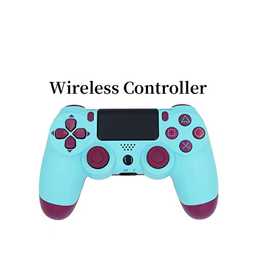 CHENXIAOJUN Gamepad Bluetooth Wireless Gamepad Controller for PS4 Playstation 4 Konsole Steuerung Joystick-Controller for PS4 Dualshock 4 (Color : Deep Blue)