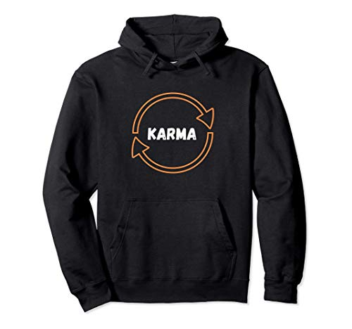 Cool Karma Spruch Spirituell Karma Regelt das kommt zurück Pullover Hoodie