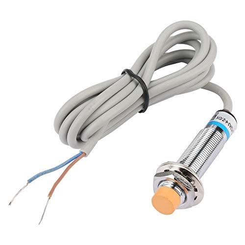Interruptor de proximidad inductivo normalmente cerrado de 2 cables, interruptor de sensor de aproximación de distancia CC LJ12A3-4-Z/DX con distancia de detección de 4 mm