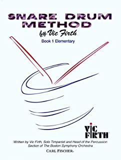 Snare Drum Method, Book 1: Elementary by Vic Firth (1967-01-01)