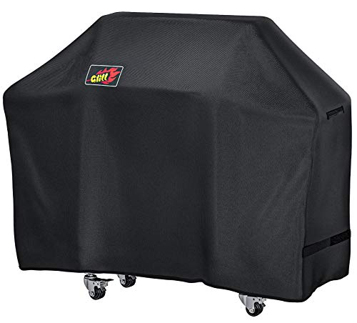 Barbecue cover, OMorc 58-Inch Waterproof Heavy Duty Gas BBQ Grill Cover for Weber, Holland, JennAir, Brinkmann and Char Broil