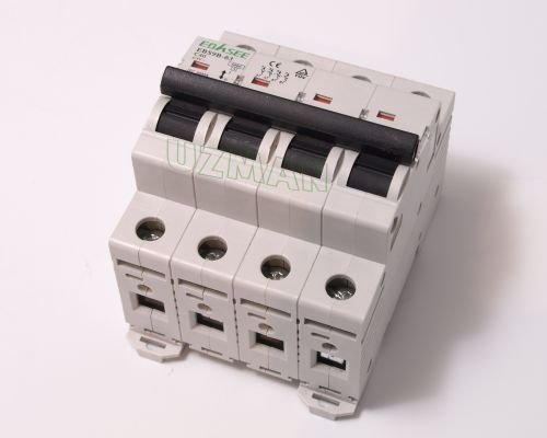 2X 4 Polig 40A Sicherungsautomat Leitungsschutzschalter 40 Ampere