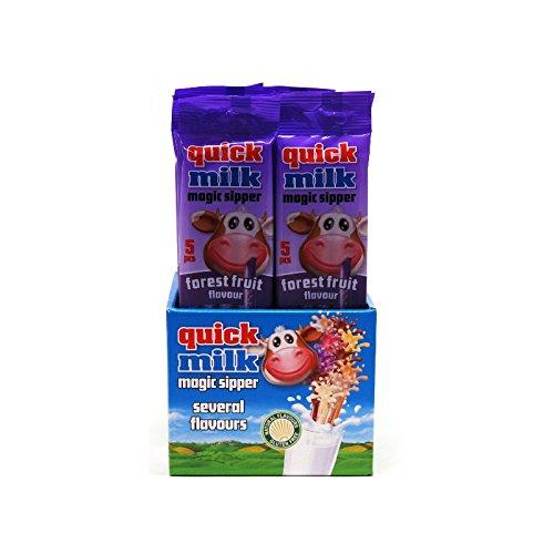 Espositore n. 20 Cannucce Aromatizzate ai Frutti di Bosco per Latte 30 gr